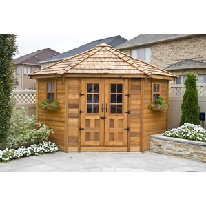 d wood storage shed
