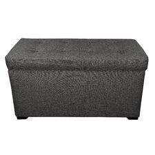Angela 8 Button Tufted Storage Trunk Bench by MJL Furniture