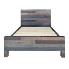 Vintage Platform Bed by Trent Austin Design