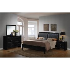 Blemerey Panel Customizable Bedroom Set by Roundhill Furniture