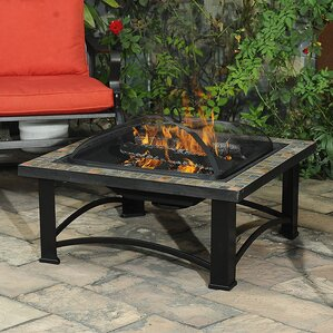 Harbor Steel Wood Burning Fire Pit