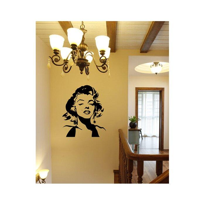 Pop Decors Marilyn Monroe Wall Mural | Wayfair.ca