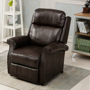 Lehman Leather Power Lift Assist Recliner By Comfort Pointe