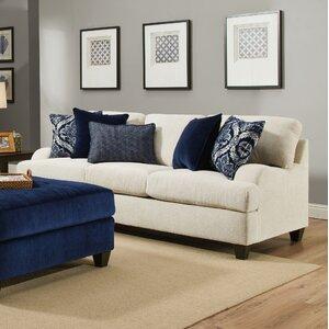 Amazing Three Posts Simmons Upholstery Hattiesburg Stone Queen Sleeper Sofa Image