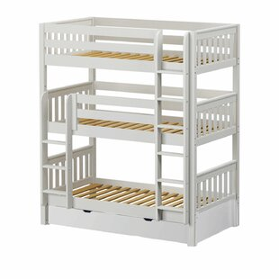Holy Twin over Twin Triple Bed with Trundle by Maxtrix Kids