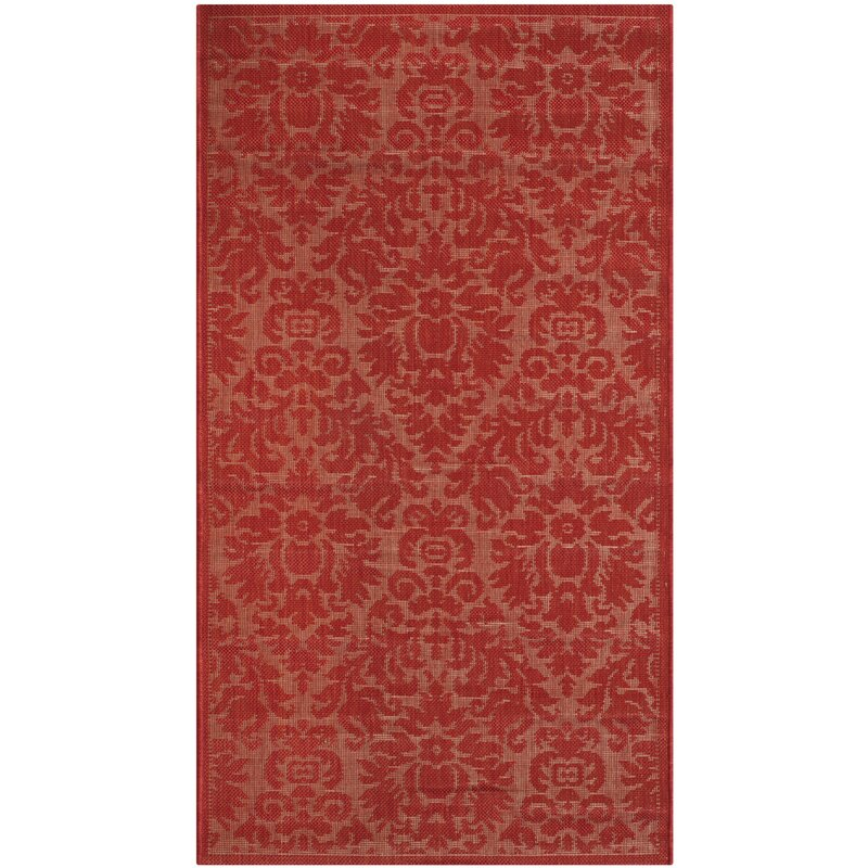 World Menagerie Catori Red Solid Indoor