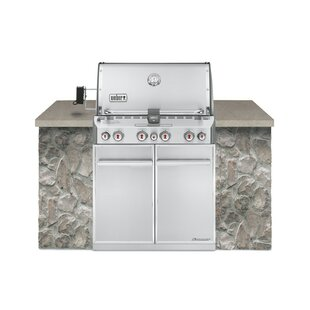 Summit® S-460 Built-In Gas Grill Stainless Steel LP By Weber