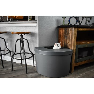 Standard Litter Box Kitangle, LLC Color: Gray
