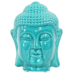 Ethel Buddha Head with Rounded Ushnisha Bust