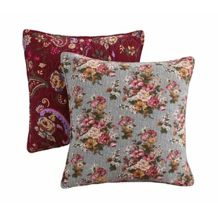 St. John 100% Cotton Throw Pillow (Set of 2)