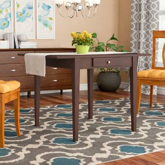 Longshore Tides Dayton Transitional Solid Wood Dining Table Wayfair