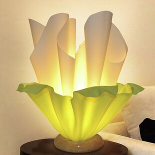 Compare prices Verda Fabric 13 Table Lamp By Ivy Bronx