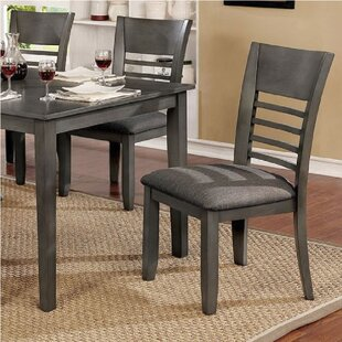 Yoder Upholstered Dining Chair (Set of 2) Alcott Hill