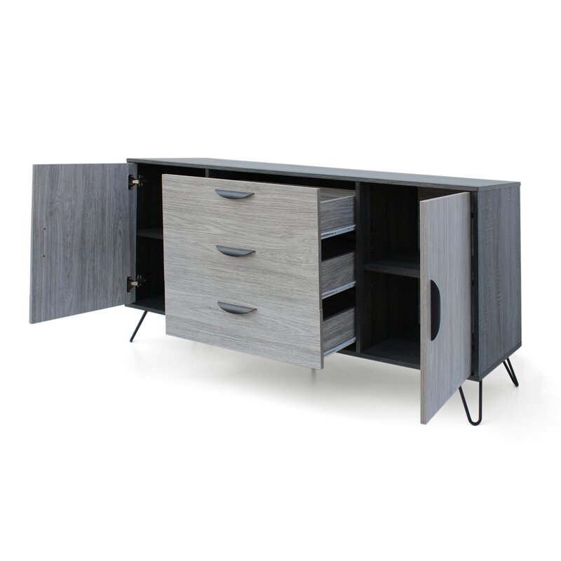 7c02f035eb7 Wrought Studio Dunlop TV Stand for TVs up to 58