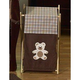 Sweet Jojo Designs Teddy Bear Laundry Hamper