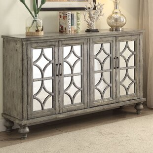 Diondre 4 Door Accent Cabinet