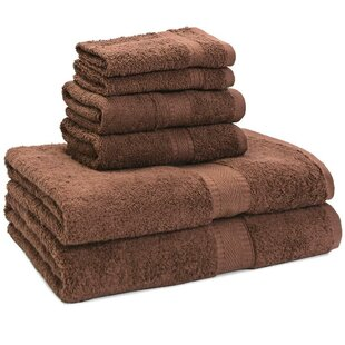 Premium 6 Piece Egyptian-Quality Cotton Towel Set