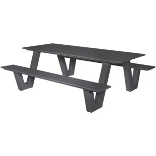 Aluminium Picnic Bench Image