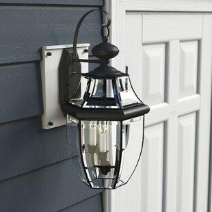 Redfern 3-Light Outdoor Wall Lantern by Alcott Hill