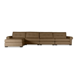 Lebanon Plush Deep Modular Sectional with Ottoman by Darby Home Co
