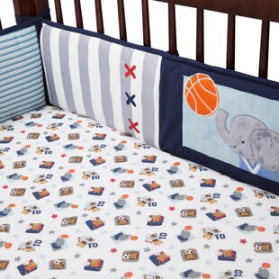 Compare prices Future All Star Crib Bumper ByLambs & Ivy