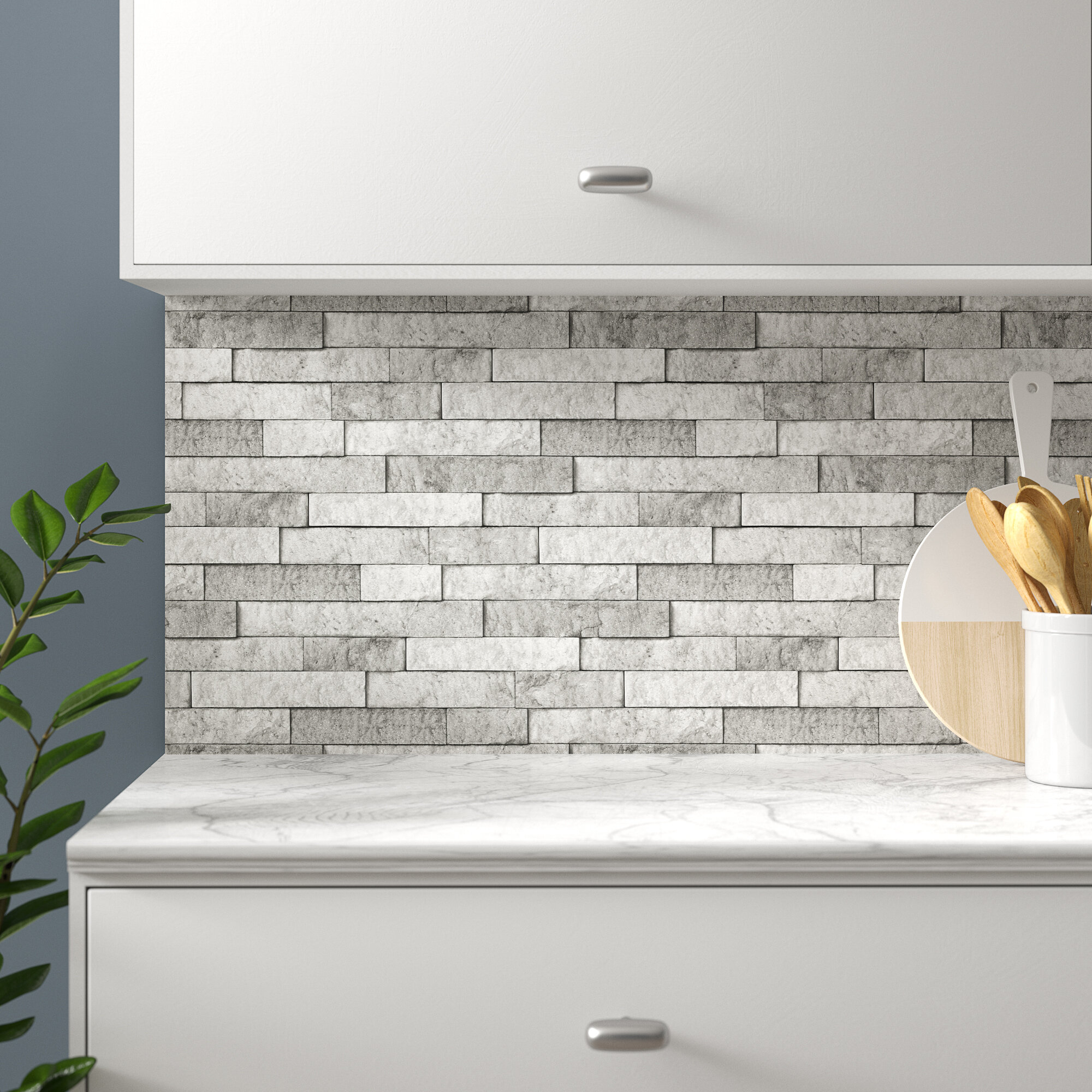 - Millwood Pines Stone Peel And Stick Backsplash Wall Decal