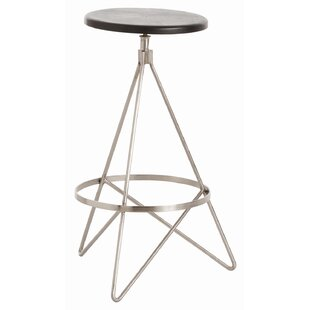 Check Prices Wyndham 25 Swivel Bar Stool by ARTERIORS