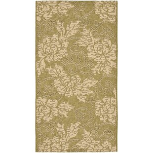 Laurel Green/Creme Indoor/Outdoor Area Rug