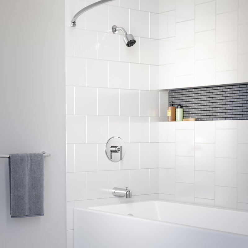 Symmons Dia Thermostatic Tub And Shower Faucet Wayfair