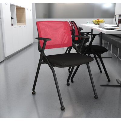Fabric Padded Folding Chair Bestar