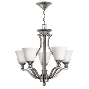 Hinkley Lighting Bolla 5-Light Shaded Chandelier