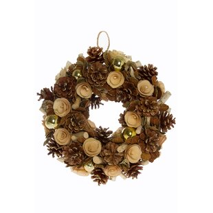 Preserved 42cm Driftwood Wreath Image