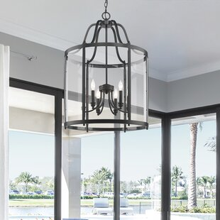 August Grove Tessie 6-Light Lantern Pendant