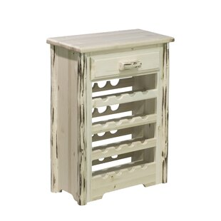Abordale 16 Bottle Floor Wine Rack by Loo..