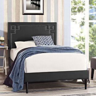 Kerley Twin Upholstered Platform Bed by Everly Quinn