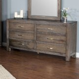 Jayme 6 Drawer Double Dresser by Union Rustic