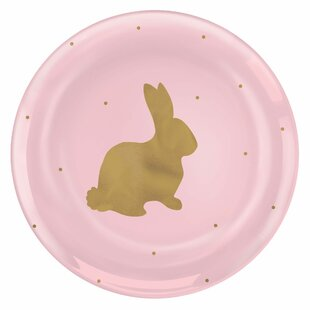 Easter Coupe Plastic Appetizer Plate (Set of 20)