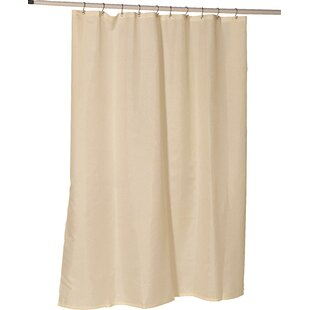 Berning Nylon Single Shower Curtain Liner by Three Posts #1