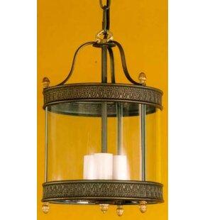 Review Nikolas Decorative 3 Light Outdoor Hanging Lantern