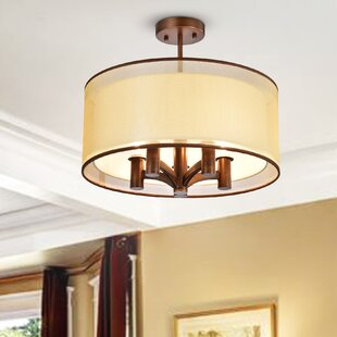 Rayan 5-Light Semi Flush Mount by Bloomsbury Market