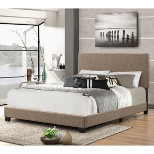 Wrought Studio Eleven Avenue Queen Upholstered Panel Bed