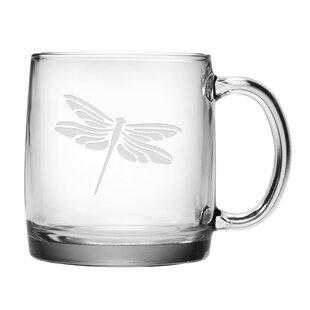 Cornwell Dragonfly Coffee Mug (Set of 4)