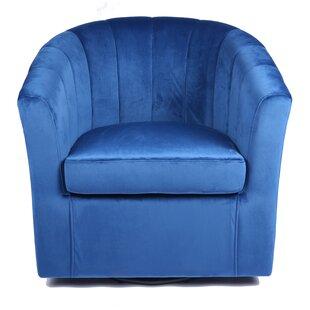 Terrific Mccloskey Swivel Barrel Chair Unemploymentrelief Wooden Chair Designs For Living Room Unemploymentrelieforg