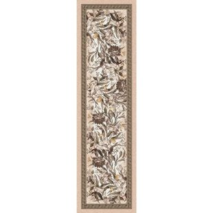 Shryock Barrington Court Floral Ecru Runner By Astoria Grand