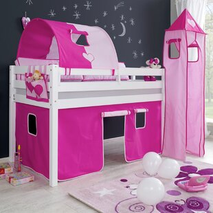 Giordano European Single Mid Sleeper Bed With Tower By Zoomie Kids