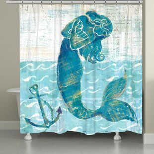 Provance Mermaid of the Seven Seas Single Shower Curtain