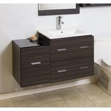 38 Single Modern Wall Mount Bathroom Vanity Set by American Imaginations