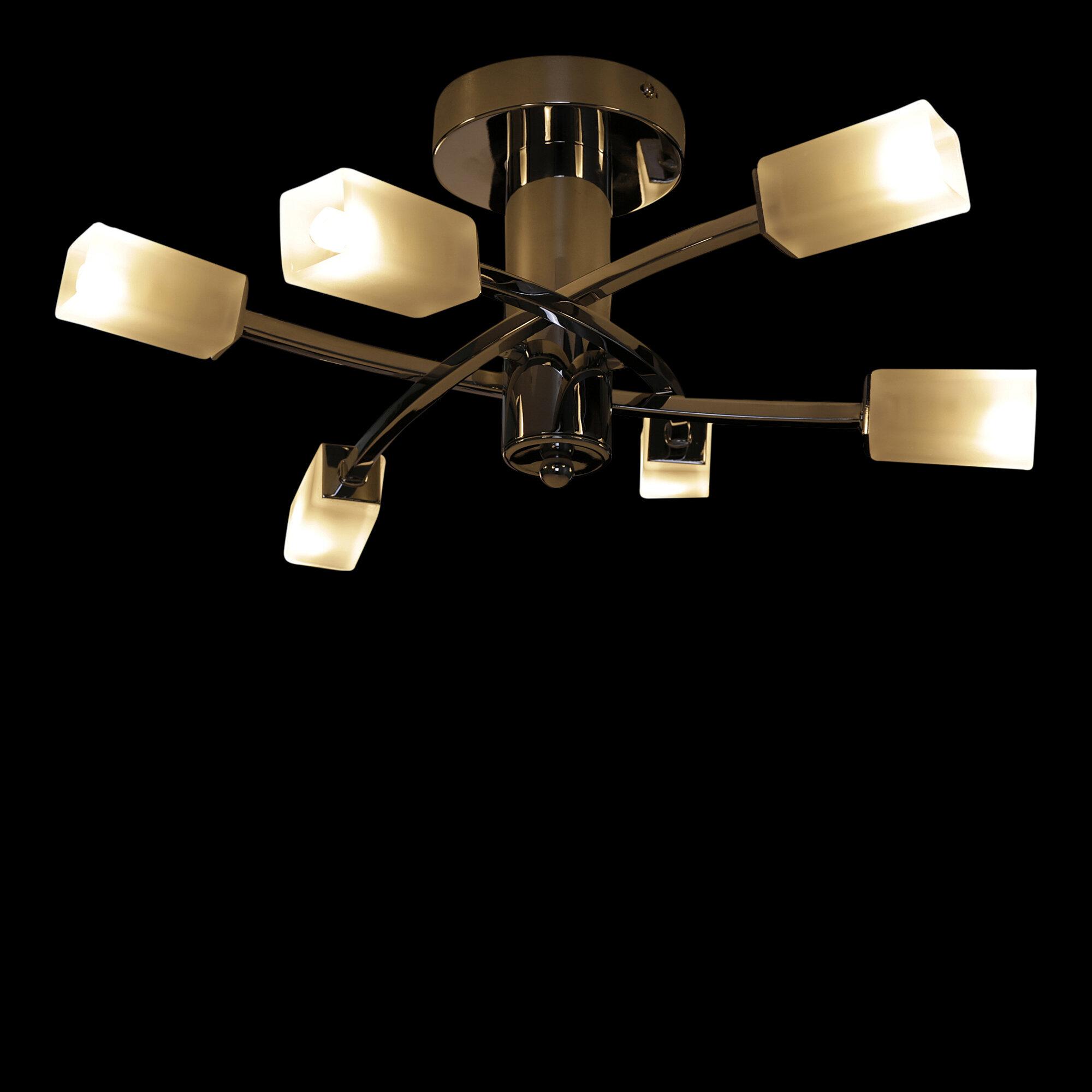 Zipcode Design Alexia 6 Light Semi Flush Mount Reviews Wayfair Co Uk