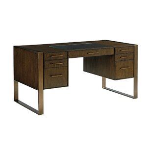 Find a Cross Effect Executive Desk By Sligh