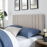 Martinsdale Upholstered Panel Headboard by Latitude Run